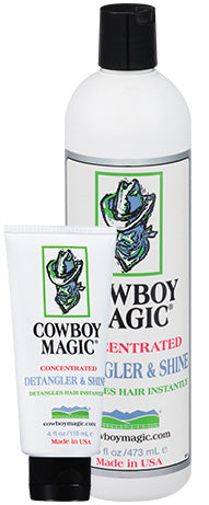 Cowboy Magic Detangler & Shine - 16 Oz
