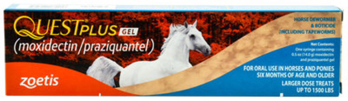 Quest Plus Gel Wormer