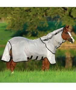 Rambo Flybuster Sheet - Oatmeal/Black