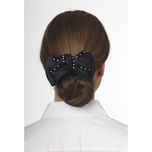 Ovation Premium Show Bow-Black Gem Twist