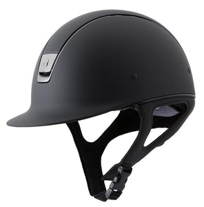 Samshield Shadowmatt Helmet with Liner - Black