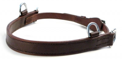 Leather Side Pull Hackamore - Havana