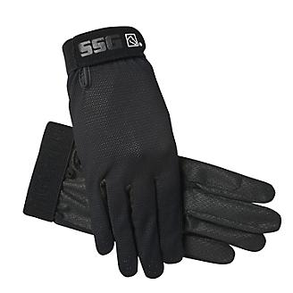 Adult SSG Cool Tech Open Air Glove, Black