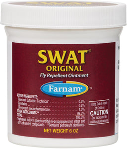 Swat Fly Repellent Ointment, Clear