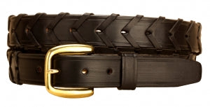 Tory Leather Laced Rein Belt