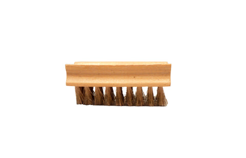 AGS Wood-back Wire Suede Brush