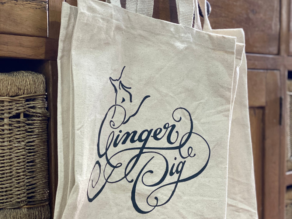The Ginger Pig Tote Bag