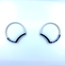 "Load image into Gallery viewer, ""Just Ears"" Saber Hoops"