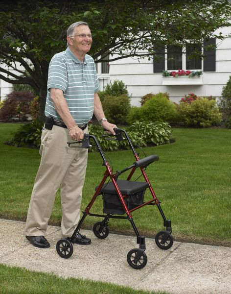 7 Safety Strategies for Using Your Rolling Walker with a Seat