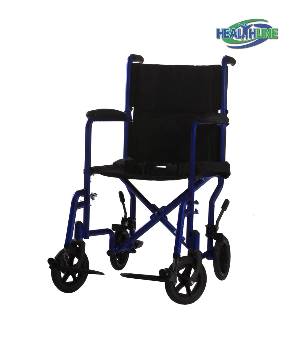 "Transport Wheelchairs W/SLR 17"" OR 19"""