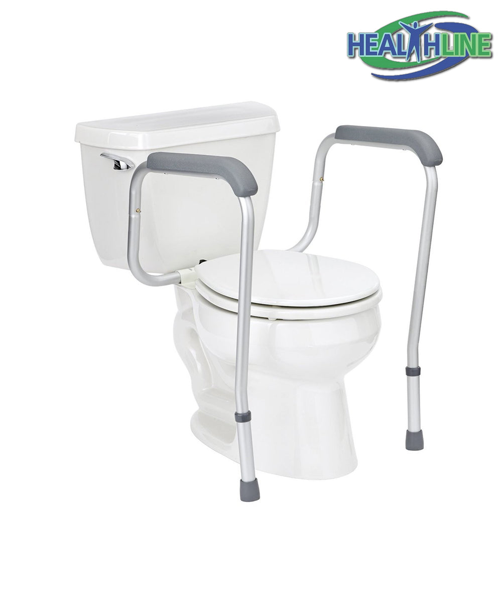 Commode for Bedroom - Toilet Safety Frame Legs - Adjustable
