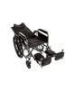 Wheelchair - Recliner Full Arm Detachable Padded Flip Back with ELR