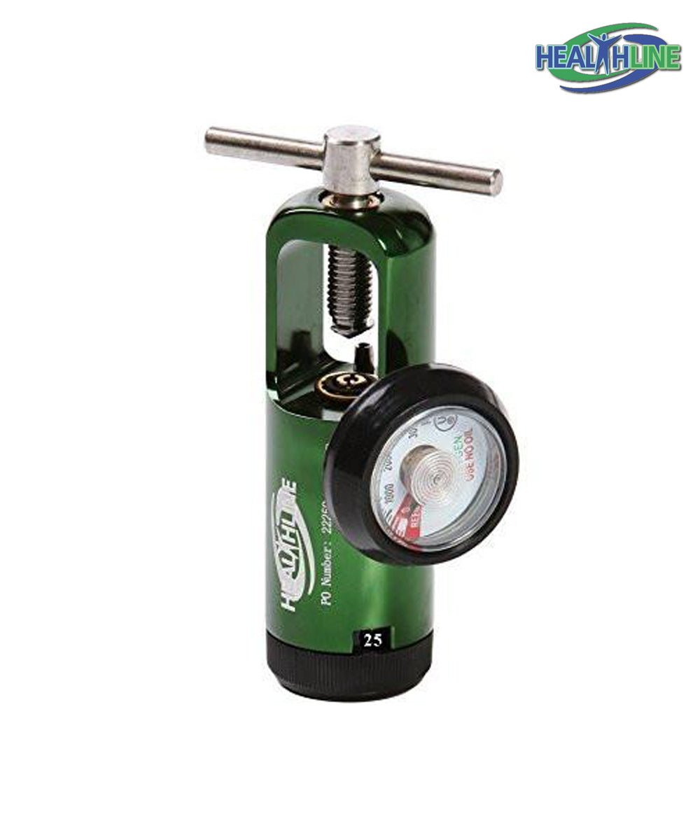 Oxygen Regulator 0-8 LPM Adult for Respiratory Care