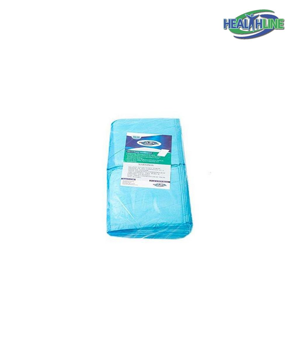 "Accessories Items - Blue (Chux) Disposable Under pads 23""x36"""
