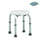 Round Bath Bench Adjustable Lightweight Shower w/ Non-Slip Seat in New York