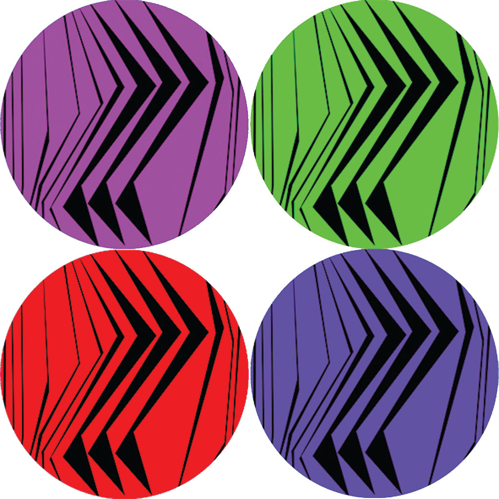 Graphic 0 Hardboard Coaster Set of 4
