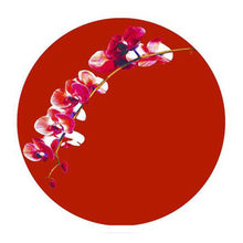 Phalaenopsis Red Hardboard Placemat - bettibdesign