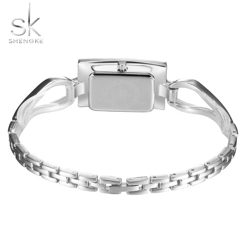women's Stainless Steel Silver Bracelet Wrist Watches