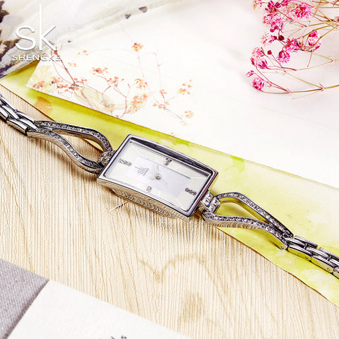 women's Stainless Steel Gold Bracelet Wrist Watches