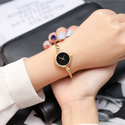 Women's High Quality Quartz Femme Nane Stainless Steel Wrist Watch