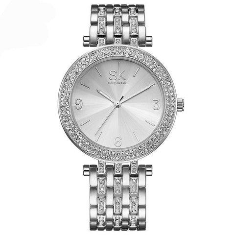 Women's Stainless Steel Luxury Elegance Bliss Wrist Watch