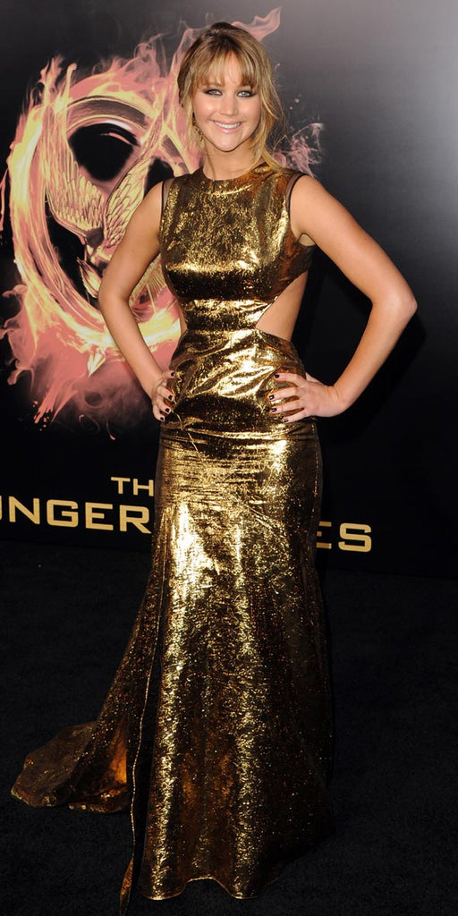 Jennifer Lawrence Hunger Games Premiere