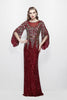 Evening Dress - Primavera Couture 1424 Burgundy