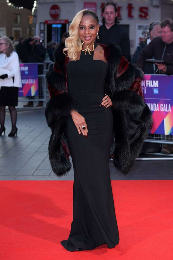 Mary J. Blige attends the BFI London Film Festival premiere of Mudbound on Oct. 5, 2017.