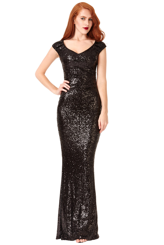 Evening Dress - City Goddess DR976