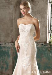 CLEARANCE WEDDING DRESS - Celine £250