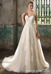 CLEARANCE WEDDING DRESS - HELENA £250