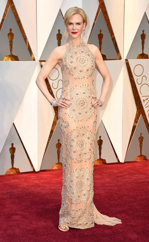 Nicole Kidman in a Armani Prive Dress