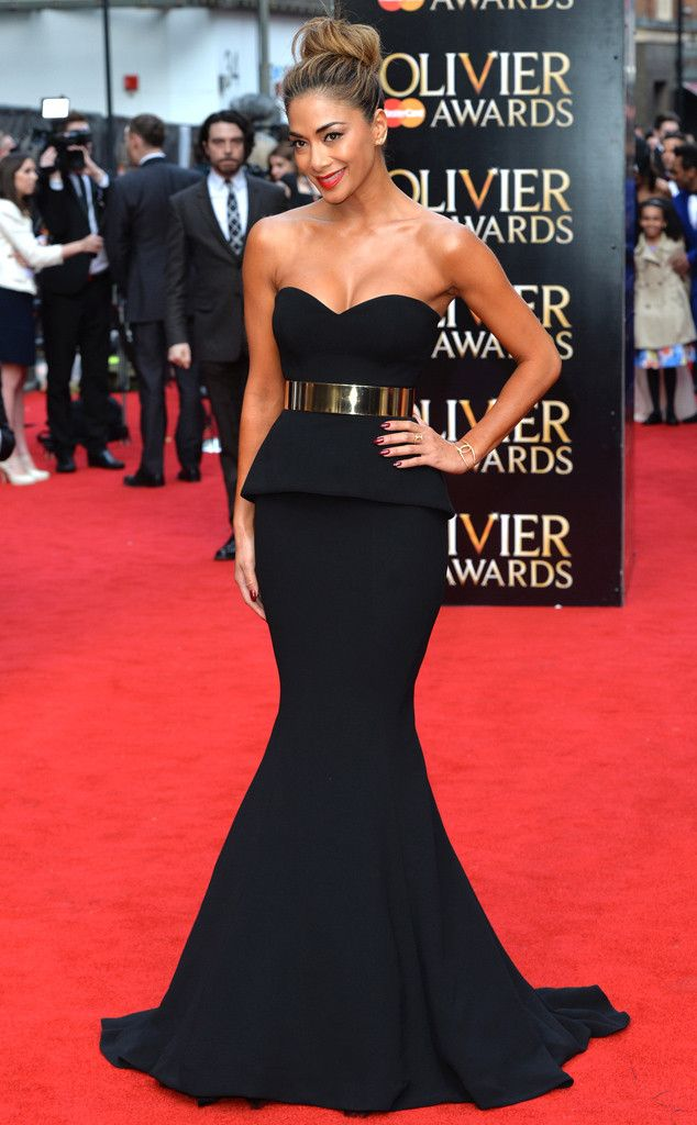 Nicole Scherzinger at the Olivier Awards