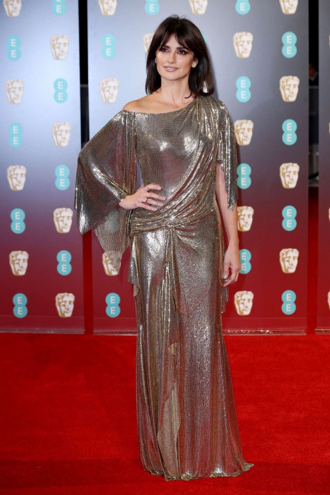 Penelope Cruz at The Baftas 2017