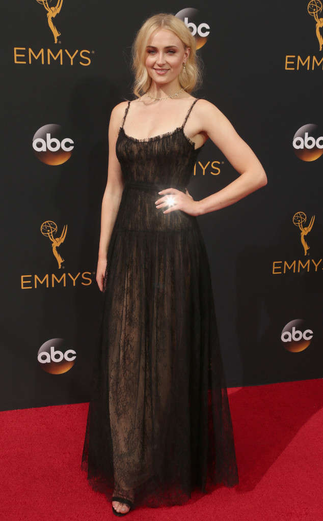 Sophie Turner at the Emmys 2017 Game of Thrones Star