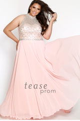 Plus Size Prom Evening Dress - Sydney's Closet TE1706