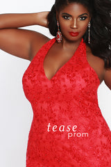 Plus Size Prom Evening Dress  - Sydney's Closet TE1841