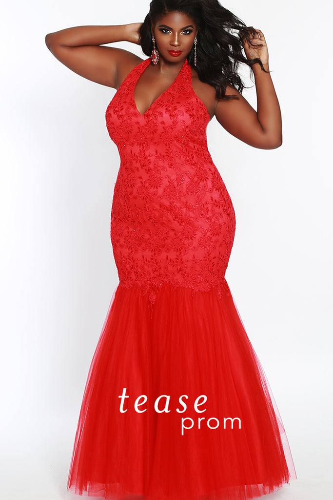 Plus Size Prom Evening Dress - Sydney\'s Closet TE1841 – Ballgown ...