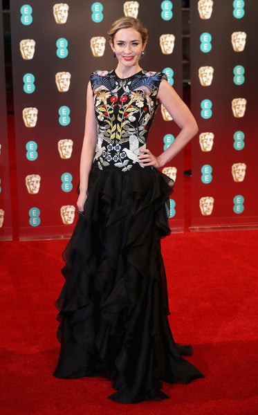 Emily Blunt at the Baftas 2017