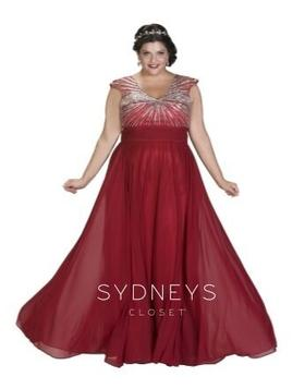Plus Size Dress - Sydney's Closet SC7214