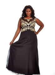 Plus Size Dress - Sydney's Closet SC7169