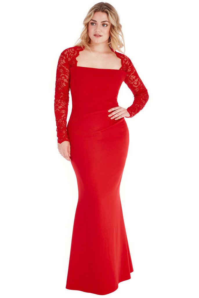 Plus Size Evening Dress - City Goddess DR826P