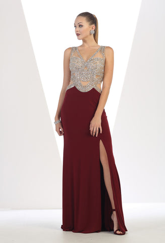 Evening Dress - Beverley Hills MQ7444