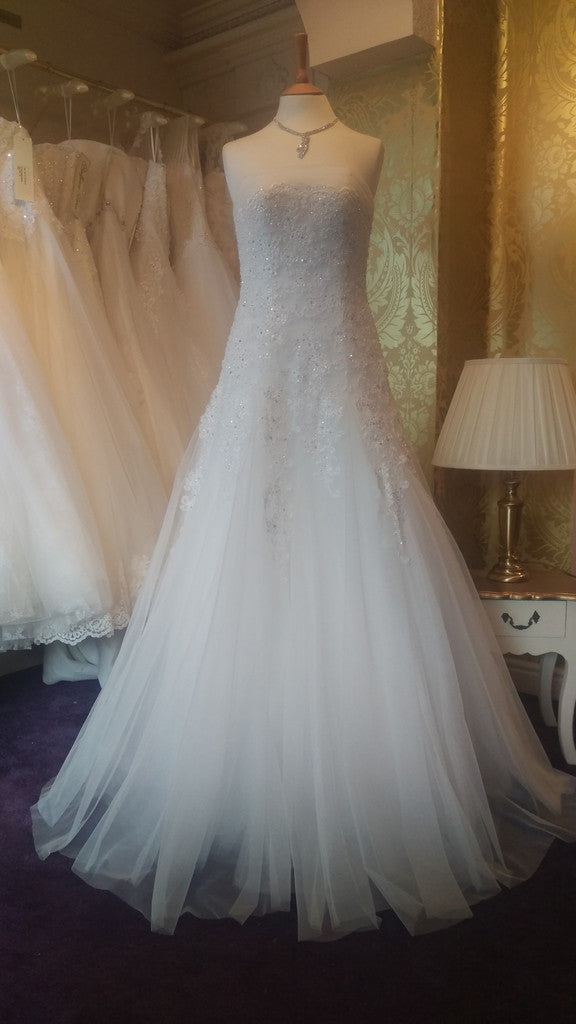 CLEARANCE WEDDING DRESS £250 (IVORY UK 14) - Wedding Dress Angel ...