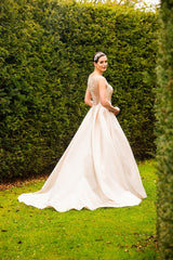 CLEARANCE WEDDING DRESS £250 (BLUSH UK 16) - Wedding Dress Special Day C17101