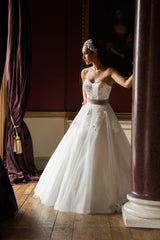 CLEARANCE WEDDING DRESS £250 (IVORY UK 14) - Wedding Dress Special Day C16406