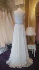 CLEARANCE WEDDING DRESS £250 (IVORY UK 16) - Angel Forever CHAF0110-1