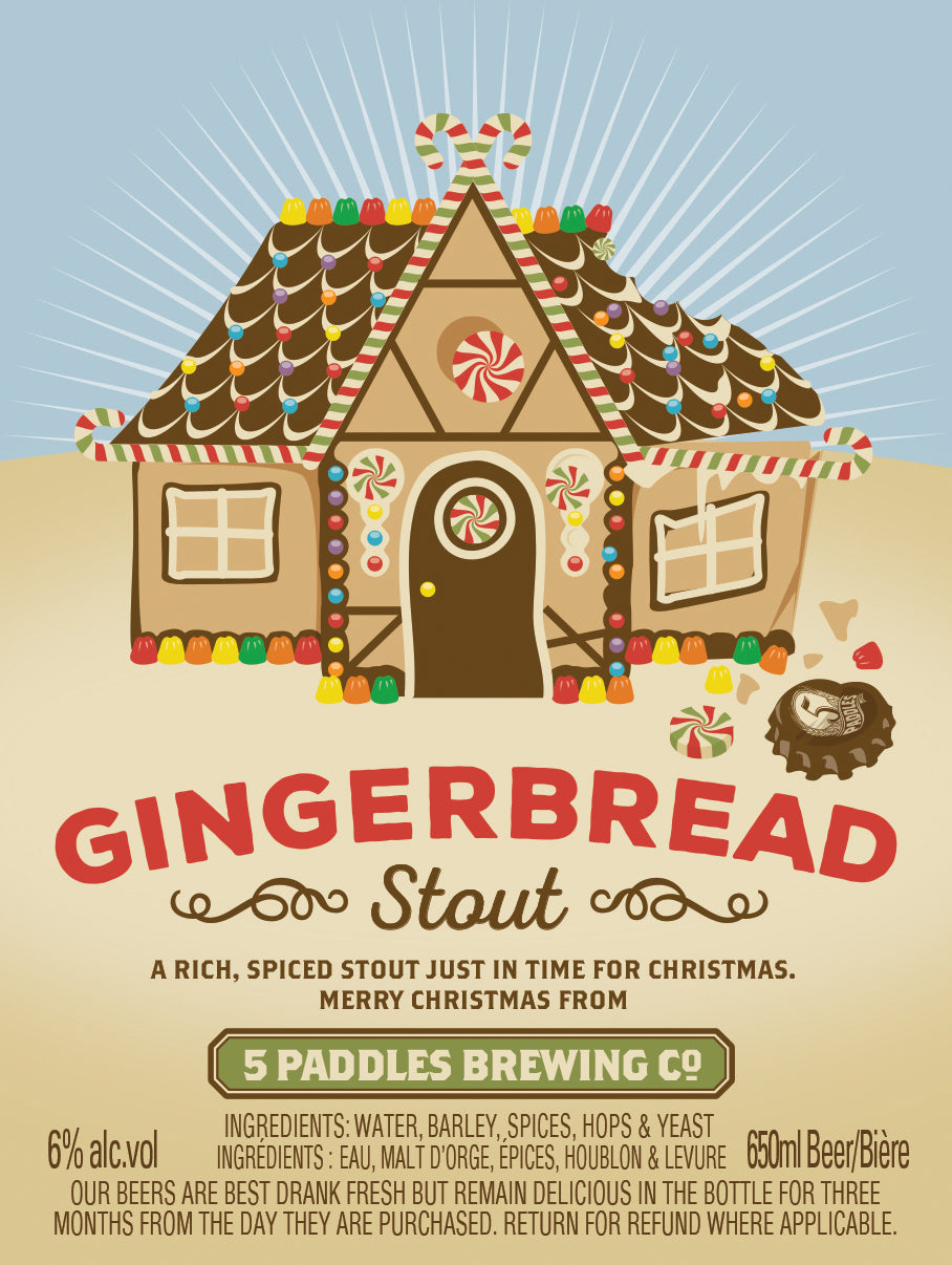 Gingerbread Stout can