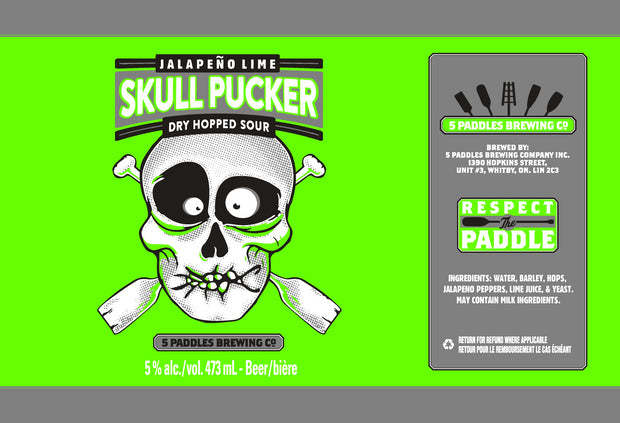 Jalapeno Lime Skull Pucker (Can)