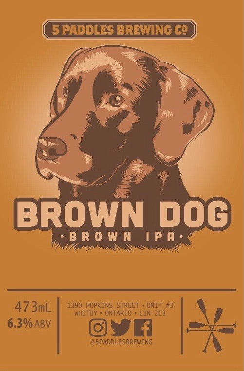 Brown Dog (473mL can)